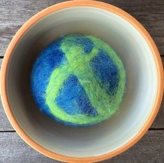Fetch2.5  Alpaca and Wool Fiber Dog Toy Ball in by Sugarboys