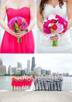 Teresa & Ryan // A Glittery Victorian in the Park Wedding // Mt. Lime Wedding, Pink Green Wedding, Pink Wedding Theme, Spring Wedding, Pink And Green, Wedding Colors, Dream Wedding, Wedding Bouquets, Wedding Flowers