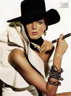 Daria Werbowy for V Magazine