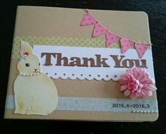 お世話になった先生へお礼のアルバム作り   【広島市安佐南区】Let'sスクラップブッキング♪&手形アート教室 Message Card, Birthday Cards, Diy And Crafts, Doodles, Typography, Collage, Scrapbook, Messages, Frame