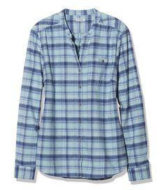 Heathered Flannel Shirt-medium