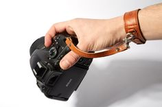 Leather Camera Wrist Strap - Harber London - 3
