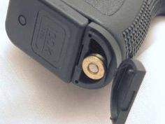 """Glock """"last round"""" bullet plug Tactical Equipment, Tactical Gear, Home Defense, Self Defense, Weapons Guns, Guns And Ammo, Rifles, Glock Accessories, Fire Powers"""
