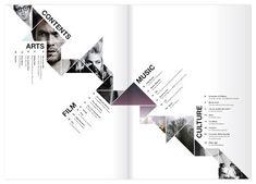 #magazine #design #layout