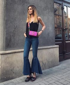 Nika Huk of fashionagony wearing our Marc Jacobs Snapshot Small Camera Bag in Lilac Girly Outfits, Cool Outfits, Casual Outfits, Fashion Outfits, Fashion Trends, Office Outfits, Women's Fashion, Marc Jacobs Snapshot Bag, Comfortable Outfits