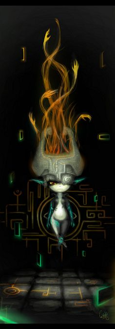 Midna-Legend of Zelda Twilight Princess (because this was the first video game I was able to sit down and just watch someone else play for hours. Fable, however, is still my favorite)