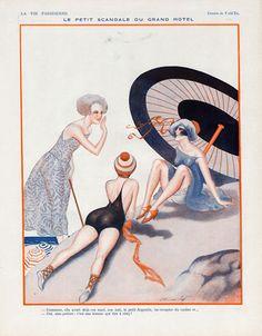 Vald 'Es (Valvérane & D'Espagnat). La Vie Parisienne, 1923. [Pinned 9-ii-2015]
