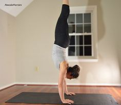 Wanting to impress your friends? This how to handstand guide will have you upside down in no time!