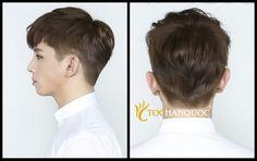 Men perm hair