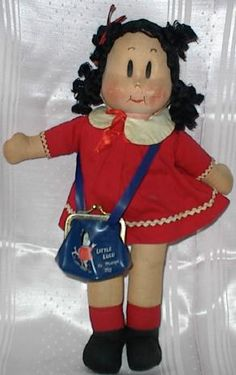 Oh how I loved Little Lulu comics - I would have died to have this doll!
