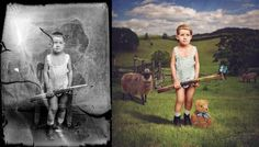 Talented Photographer Turns Vintage Photos Into Surreal Works Of Art