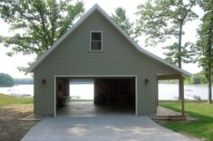 Creating a proper detached garage is a really good idea if you want to take your entire experience to the next level. #Garage #DetachedGarage #Architecture