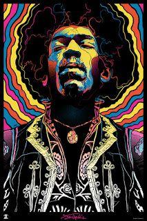 Gabz Jimi Hendrix, Voodoo Child Poster Release From Dark Hall Mansion – Poster – rock The Rock, Rock And Roll, Jimi Hendrix Poster, Rock Band Posters, Kids Poster, Concert Posters, Film Posters, Psychedelic Art, Voodoo