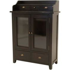 Two Door Cabinet With Two Lower Drawers. Product: CabinetConstruction  Material: Reclaimed PineColor