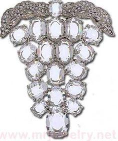 Eisenberg Ice Classics Rhinestone Brooch Pin Grape Cluster   eBay