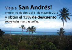 Viaja a San Andrés entre el 10 de abril y el 31 de mayo, podrás obtener el 15% de descuento en el hospedaje con la #HosteriaMarySol  ¡El mejor regalo para mamá!   o encuentra el regalo perfecto para tu mamá y