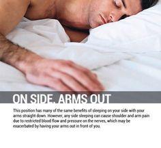 sleep positions health