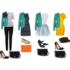 """teal blazer"" by alexfisherson on Polyvore"
