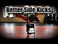 Side Kick Training Tips Taekwondo, Kickboxing and Karate Jka Karate, Roundhouse Kick, Martial Arts Training, Sport Sport, 30 Minute Workout, Taekwondo, Self Defense, Kickboxing, Training Tips