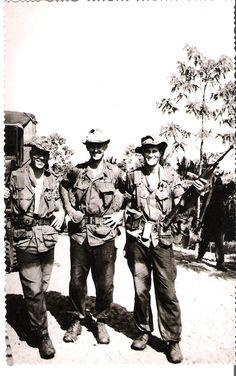 U.S. Army advisors in Vietnam, early 1964.