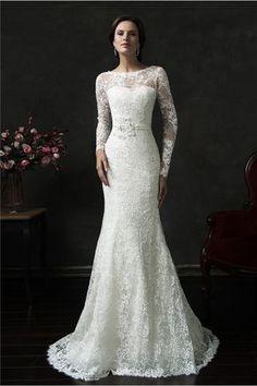 Vintage Sleeve Wedding Dress