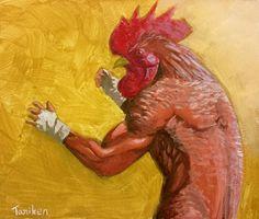 アクリルガッシュのイラストです。サイトでもイラストを公開しています。tkillustration1127.wixsite.com/taniken-gallery  #イラスト #タニケン #アナログ #アクリルガッシュ #絵 #人外 #illustration #Taniken #acryl gouache  #painting #art
