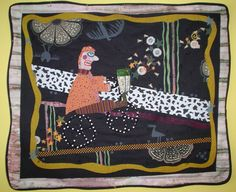 Unique fabric and textile art including beautiful quilts by artist Sandi Howell, from Winnipeg, Canada 40th Birthday, Birthday Cards, Birthday Celebrations, Baby Makes, Fabric Art, Textile Art, Textiles, Quilts, Black And White