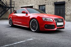 Audi A5 Conversion on Vossen VVS094 Wheels by VossenWheels via | Flickr @ http://www.flickr.com/photos/vossenwheels/2821818927/in/faves-farazharoon/