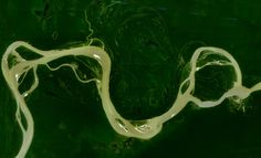 The Amazon River from space