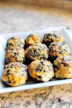 So many flavors I love, together at last! Spicy + Spinach + Mushroom!!!! Spicy Spinach-Stuffed Mushrooms by P-Dub. Going to have to give these a try.