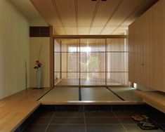 Entrance with tatami-mats
