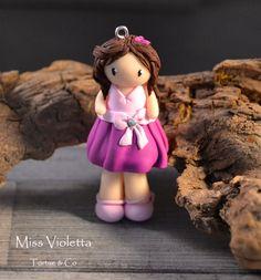Figurine Violetta fimo