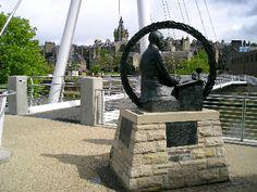 Janes Thompson statue in,Hawick, Scotland: http://www.europealacarte.co.uk/scotland/scottishborders