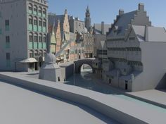Edsard Kylstra Time Travel in the Utrecht Townhall Utrecht, Virtual Reality, Time Travel, Archaeology, Culture, 3d, Mansions, Landscape, Architecture