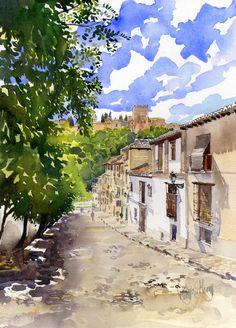 Exhibition in Granada