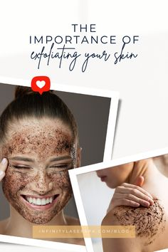 Exfoliating your skin makes it look good and has a lot of benefits. At Infinity Laser Spa, we love to help you unleash the power of your skincare routine. Exfoliating is important for all skin types. Oily, combined or dry, all skin types need it.