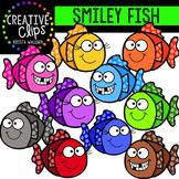 FREE Smiley Fish {Creative Clips Digital Clipart}