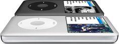 Apple - iPod classic / my new obssession Ipod Classic, Make Mine Music, I Love Music, Apple Mac Computer, Techno Gadgets, Nintendo Switch Accessories, Steve Jobs, Apple Products, Graduation Gifts