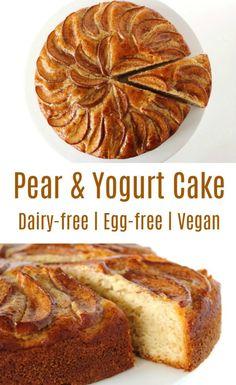Pear and Yogurt Cake | Bit of the Good Stuff