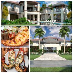 Exclusive villas en Dominican Republic, La Vida, luxury villa en CapCana. For more information, please contact Rosanna Diaz at: T (829) 956-6926 or (305) 203-0883 or (829) 770-8830 for more information. Visit www.coolcaribbeandigs.com