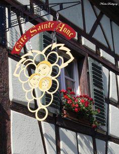 belles enseignes d'Alsace