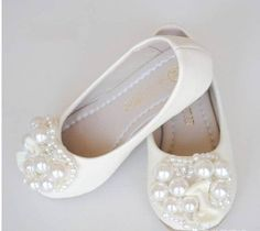 Toddler little girl pearls sandals bridesmaid dresses ivory flower girl shoes toddler girl shoespearl party shoesbow girls shoes mary jane shoes genuine leather shoes for girls mightylinksfo