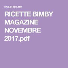 RICETTE BIMBY MAGAZINE NOVEMBRE 2017.pdf