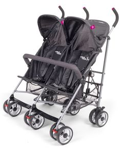 Nieuwe avonturen tegemoet! Samen met je tweeling gaan jullie keer op keer comfortabel op stap met deze duobuggy van Childwheels.