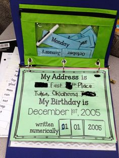 Morning Work Binders - Special Education Station