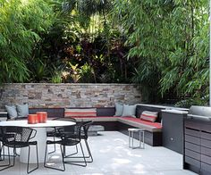 Check out 12 inspiring examples of outdoor rooms. By balancing comfort with a connection to outdoors, these spaces provide an extra living space with a relaxed feel. Outdoor Areas, Outdoor Rooms, Outdoor Living, Outdoor Furniture Sets, Outdoor Decor, Small Backyard Gardens, Backyard Patio, One Kings Lane, Pool House Designs