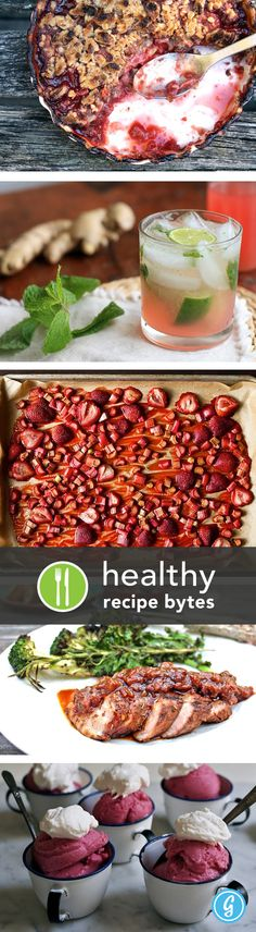 5 healthy recipes using one of Summer's best crops — RHUBARB!