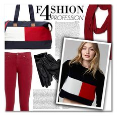"""""""Tommy Hilfiger"""" by montcastanon ❤ liked on Polyvore featuring Tommy Hilfiger"""