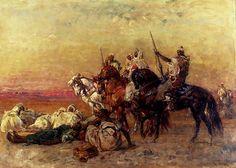 The Halt in the Desert 1923