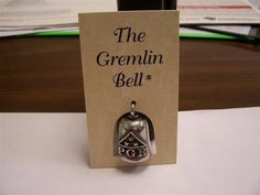 Patriot Guard Riders Gremlin Bell...I ordered this bell for my dad's Harley a few years ago.